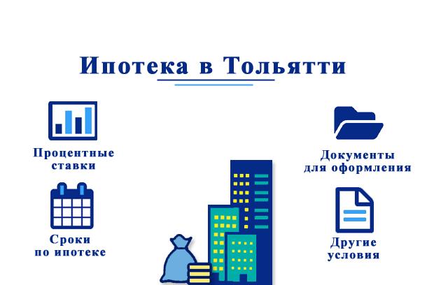 Взять ипотеку в Тольятти