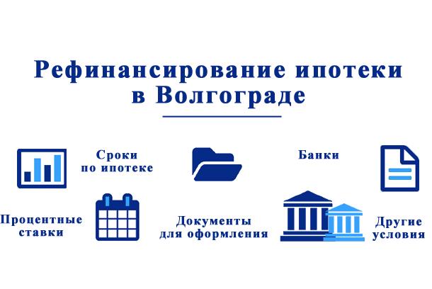 Банки Волгограда: рефинансирование ипотеки